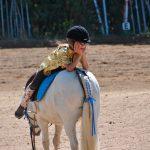 Taller de equitación con niños