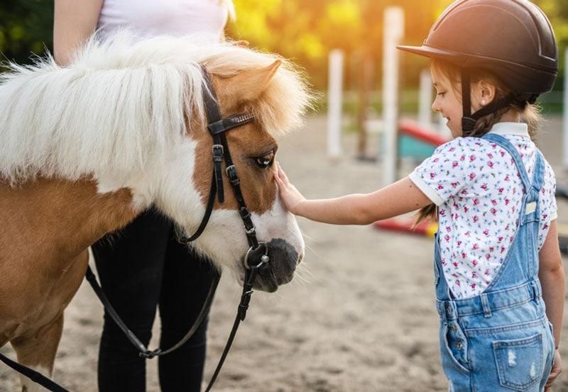 montar en pony